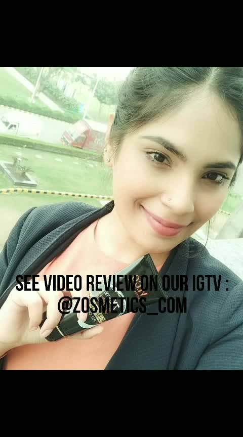 IGTV : @zosmetics_com  See full video review. VLCC Product Review by Geetika Behal.