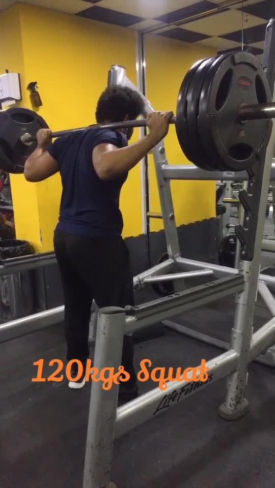 120 kgs of Squats #gabru_channel #gabruchannel #fitnessmotivation #fitnessaddiction #gymlife #health