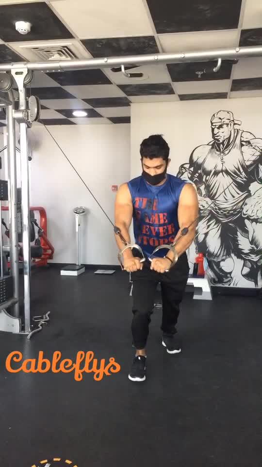Chest cable flys #fitness #gabru_channel #gabruchannel #gabruswag #fitnessmodel #fitnessmotivation #gym #roposostar #risingstar