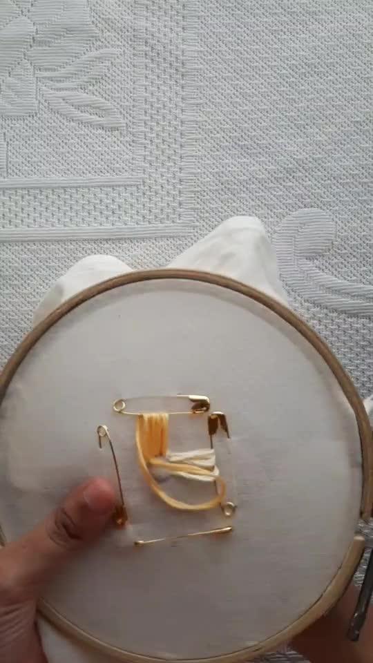 DIY: Embroidery Hack