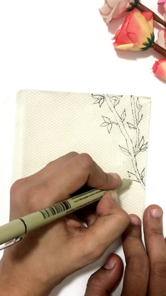 DIY DOODLE ON TISSUE PAPER  #diy #tissueart #summervibes #risingstar #roposostar #roposo #creativespacechannel