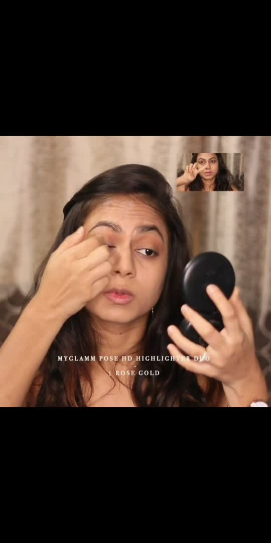 Let me know what are your thoughts on thia soft glamm look.    #MyGlammXO #MyGlammXOBeautyCreator #MyGlamm @myglammxo_beautycreator @plixxo @popxobeauty @myglamm #khyatinisar #herprettymess #prettymess