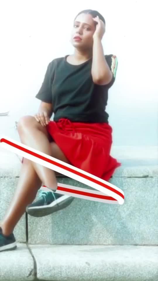 Red And Black Fashion Look   #fashion #fashionblogger #fashionquotient #fashionista #fashionlook #effects