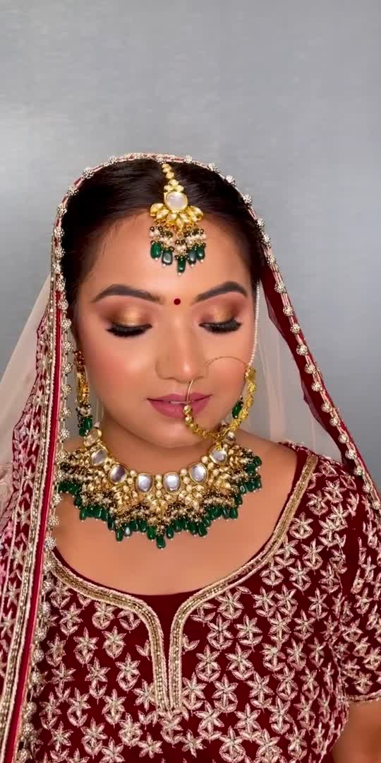 #makeupartist #bride #bridesofindia #makeuplook #bridalmakeuplook #bridemakeup