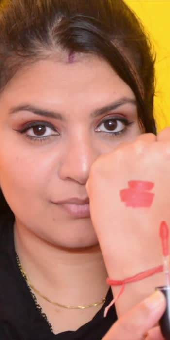 MAC Liquid Lipstick Quite the Standout #lipswatch #lipstickswatch #maclipstick #orangelipstick #your2020