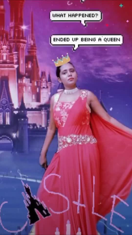 Princess is in the Castle   #princess #princesslook #princessgown #princesscrown #princessdress #gown #fashion #fashionblogger #fashionquotient