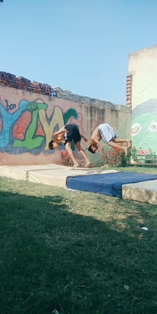 nice👍👏😊#acrobatics #gymnastic #acroboys#sports #roposostar