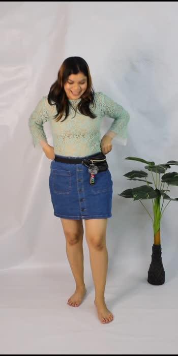 Styling denim skirt #looksthatspeak #fashionblogger #fashionquotient #fashiondiaries #fashiongram