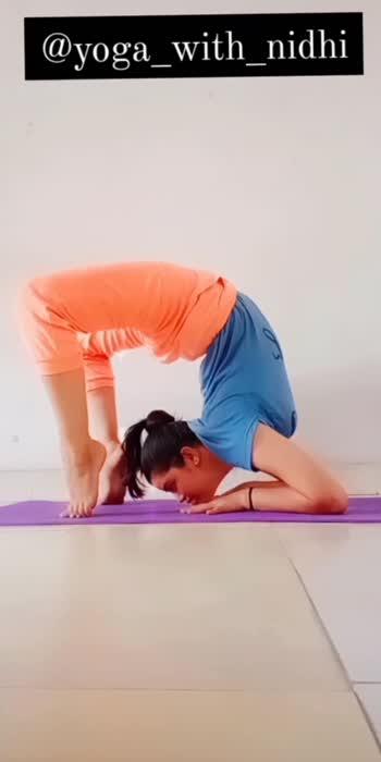 #yoga_with_nidhi #yoga #backworkout #backbone