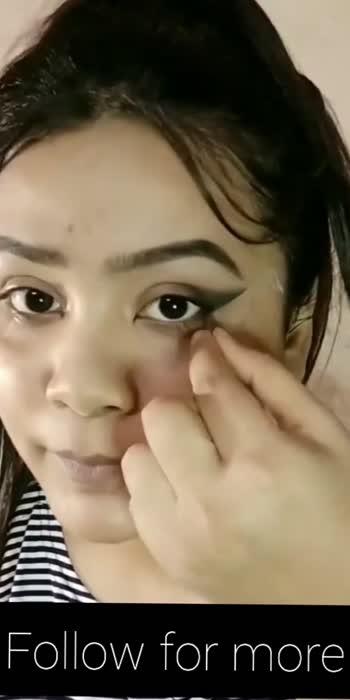 Foxy eyes  👀 #makeuptutorial