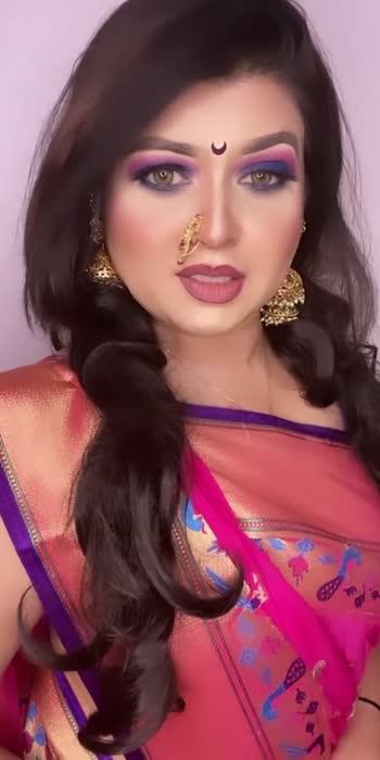 #marathimulgi #marathisongs #marathistatus #makeupbyme #beauty