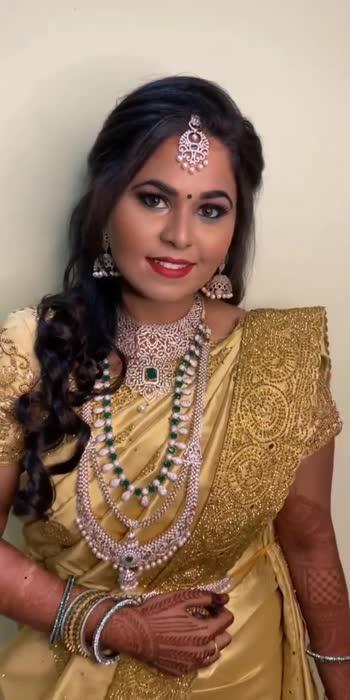 Bridal makeup : @shami_s_makeover_tirunelveli #tamilnadu #brides_of_india #bridesofindia #muaindia #muatamil