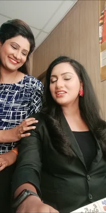#anchor VC # anchor Swathi  #chandrika vijji