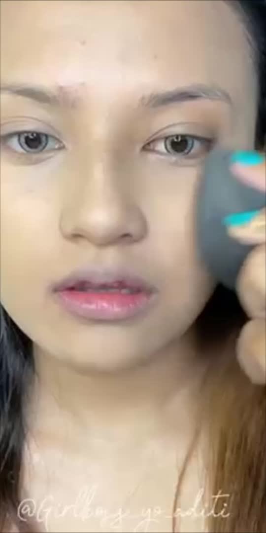 #makeup #makeuptutorial #makeupartist #like #videoclip #trendingonroposo #roposo-beats