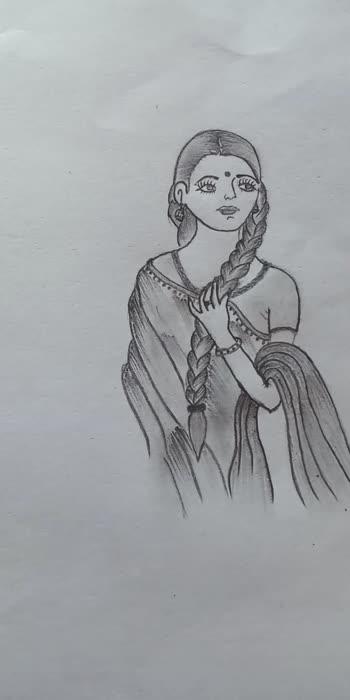 Woman Pancil Drawing https://youtube.com/channel/UC-OdFMX_P5IkXFrj1xDgRSQ #art #drawing #sketch