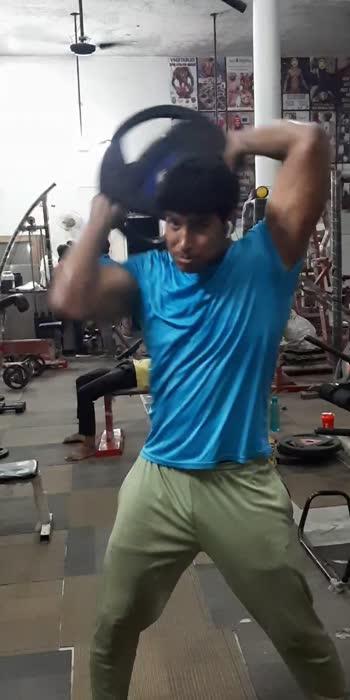 #fitness kandho ki kasrat