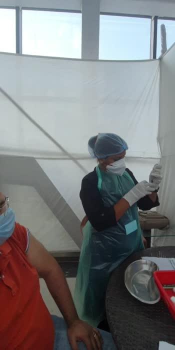 #getvaccinated #roposovasion #roposostars #stayhomestaysafe #vaccination #covid19india