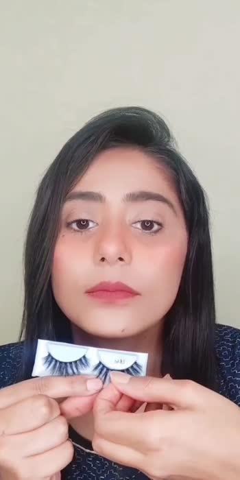 Lash Application Tutorial Part 1 with Glue #makeuptutorial #makeuphacks #makeuphacksandtricks #makeupartist #bangaloremakeupartist #makeuptrends #makeuplover #makeup #bangaloreblogger #beauty