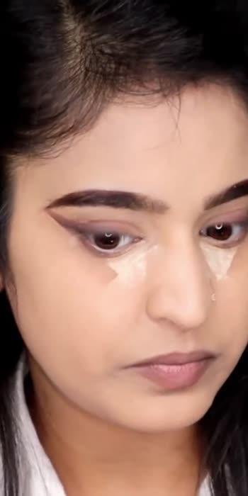 Foxy eyes #makeup #makeuptutorial #makeupartist #trending #foxeyes #viralvideo #roposostar