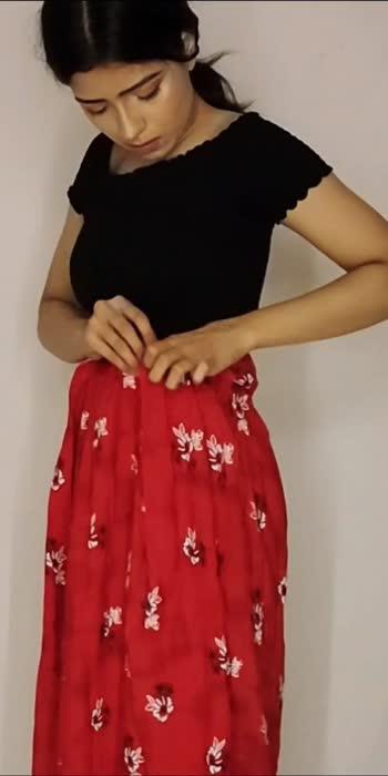 Nighty Gown to Skirt✨ #diyfashion #fashionista #fashionbloggerstyle