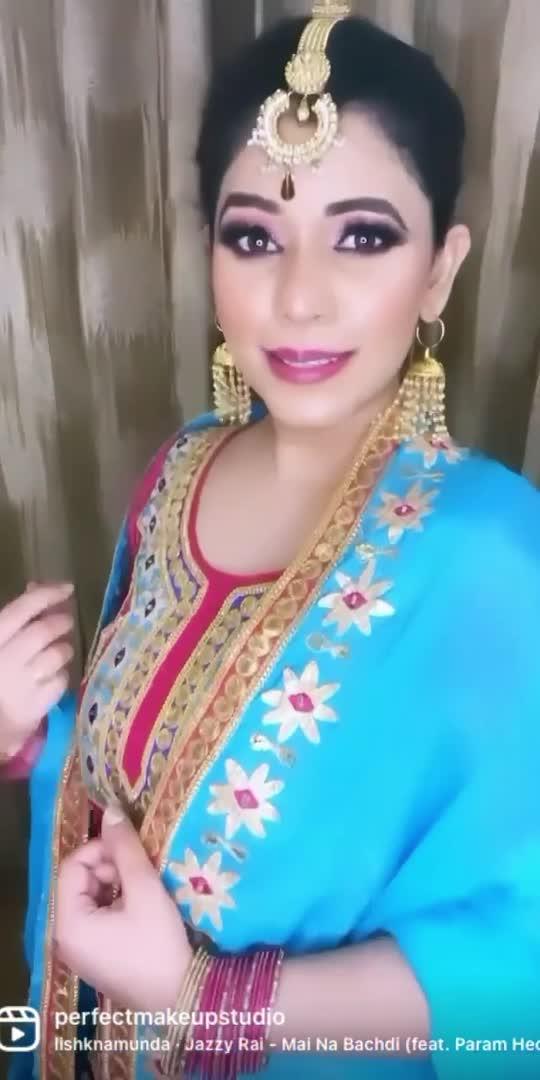 #makeup #makeuplook #beforeandafter #makeupvideo #love #perfectmakeupstudiobyharpreetkaur #punjaban #punjabisong #trending #viralvideo #trendsound
