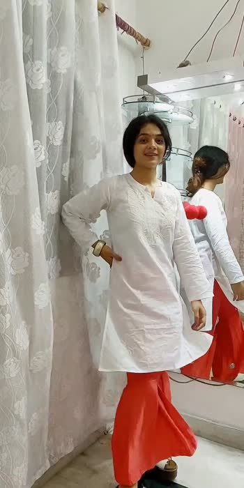 STYLE YOUR KURTI PART 3. #kurti #styling #stylinginspiration #stylingtipsandtricks #followme #fypage