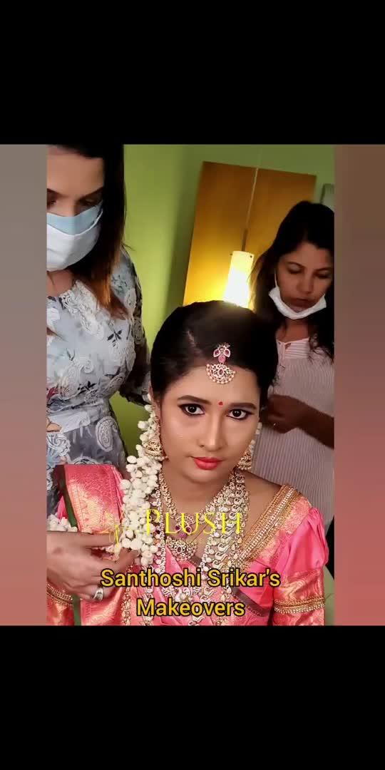 PLUSH Bride.. Santhoshi Srikar's Makeover..  . PLUSH Bridal jewellery  . For PLUSH Makeover Enquires Contact  . Chennai 9543676444 . Madurai 9986745444. . #Santhoshisrikar #santhoshimakeup #santhoshiboutique #plushboutique #boutiqueinchennai #plush #plushbride #bridalmakeup #wedding #southindianbride #southindianwedding #southindianbridalmakeup #southindianbridalmakeupartist #bridalmakeupartist #bridalmakeup #mua #muah #hair #hairmakeover #sareedraping #lockdown #lockdown2021 #lockdownbride #lockdownwedding #bride #instagram #instabride #workingpic #picoftheday #plushboutiqueandbeautylounge