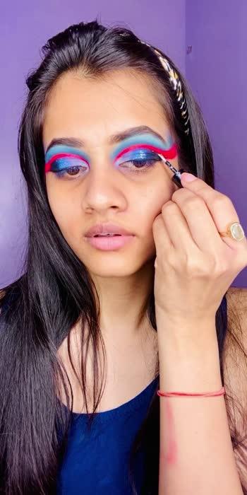 Tutorial of full cut crease #makeup #makeupartist #angrezibeats #roposostar #roposobeauty #makeuproposo #tutorial #tutorialvideo