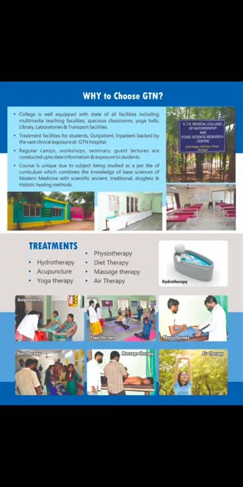 GTN Madical College of Naturopathy and Yogic Science Research Centre, #dindigul #medicalcollege #GTN