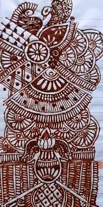 #Bridel mehandi designs