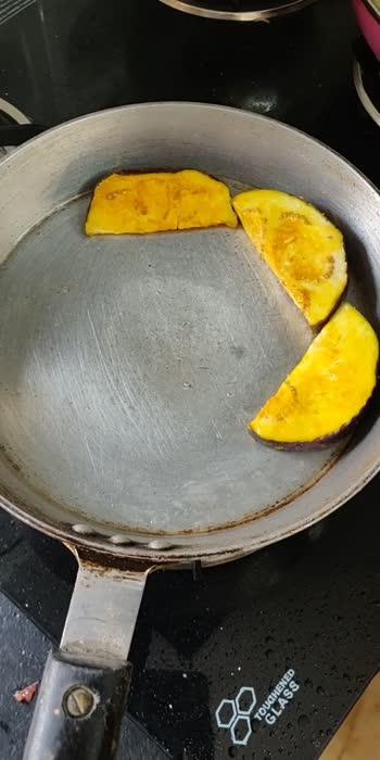 Baigun bhaja Recipe 💕 #bengalifood #simplefood #foodlover