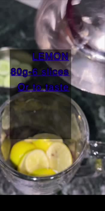 Detox water for weight loss and glowing skin#ropso star#### detox water