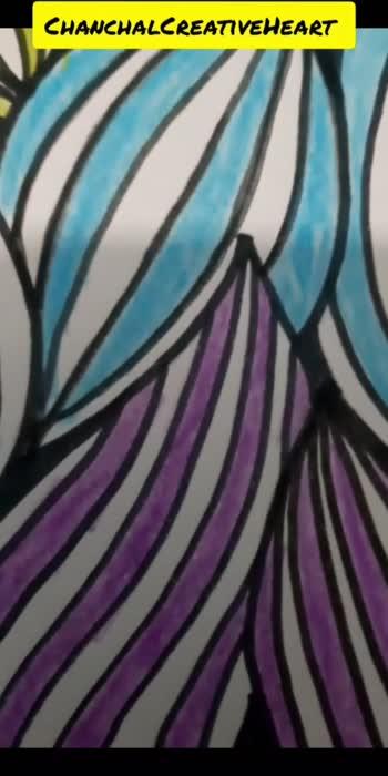 Pattern design/Colourful pattern  #ChanchalCreativeHeart