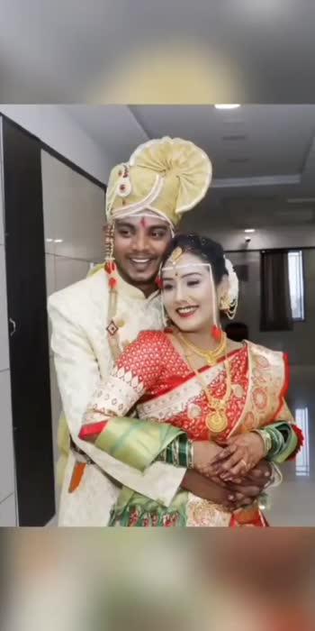 ❤️ . . #reposo #trending #marathicouple #marathimulgi  #marathimulga #nehamay #nehamayur#couplegoals  #couple #maharashtrian #lagna #maharashtrianwedding #love