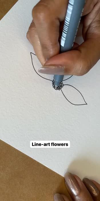#artistonroposo #lineart #art #floralart #artist