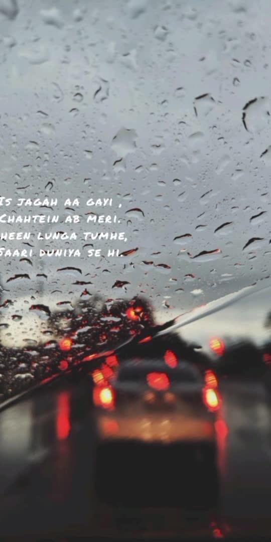 ❤️rainy weather..feel the music   #feel #music #rainyweather