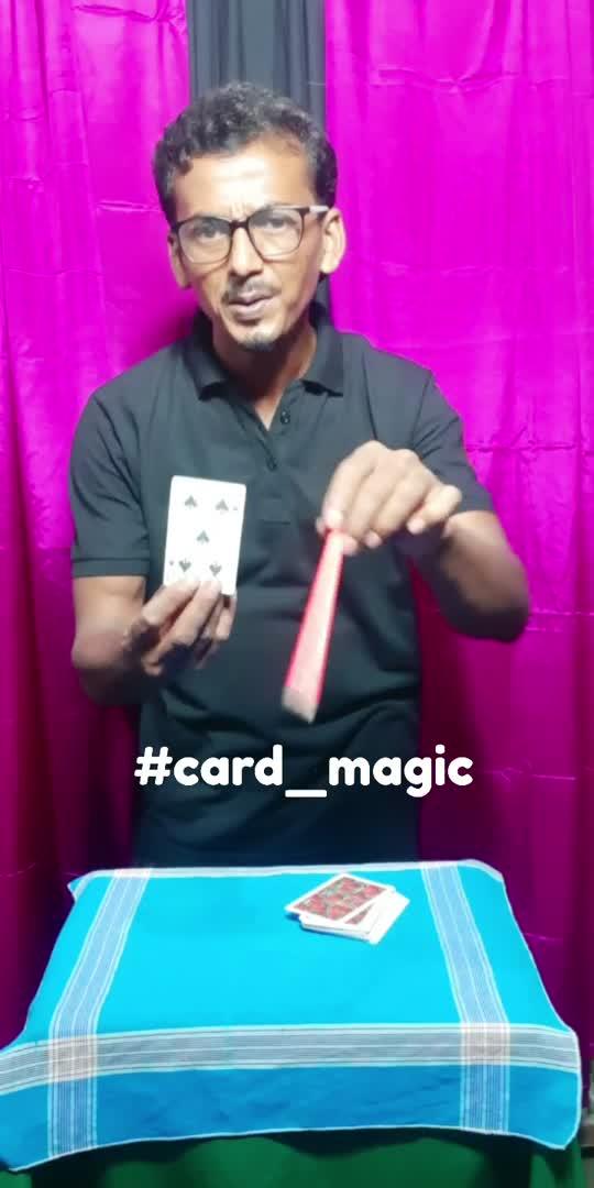 real card magic #magic #magicians #roposostar