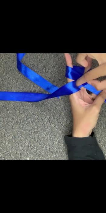 How to make a ribbon bow.#artistofroposo #badhabits #howtomake #ribbonbow #ribbon #crafts #handmade #diy