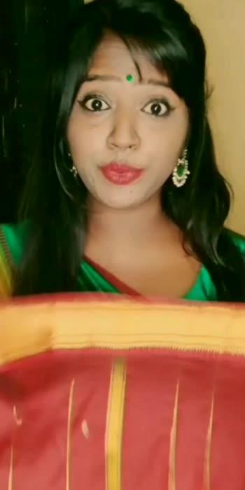 ❤️❤️❤️ #southindianlook #simlanomi #simlasquad #traditional #saree #madeonropso #tamil #madeonroposo #roposotamil #roposo #ondiveeran #eeshwarmoviesongs  #simbu #str #lovely #duet