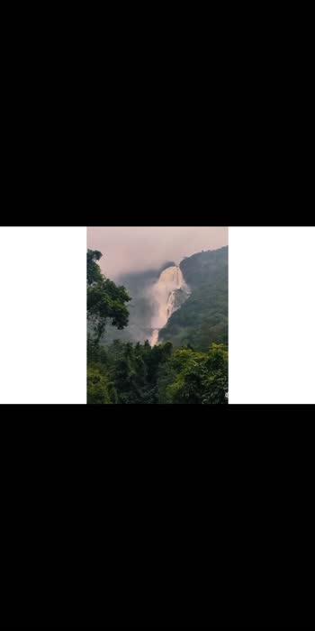Waterfall goa#goa #waterfall