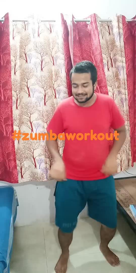 #zumbaworkout#zumbaworkout#zumbaworkout #zumba #workout #dance #freestyle #roposo #risingstar