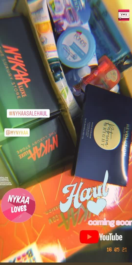 #roposo #trending #nykaasalehaul #nykaasale #hotpinksale #macmakeup #maccosmetics