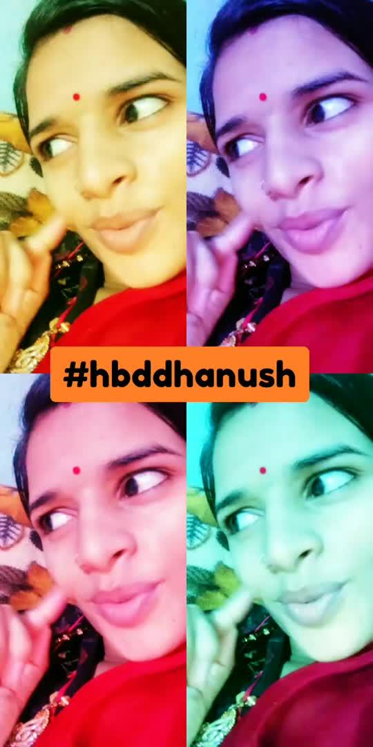 #hbddhanush