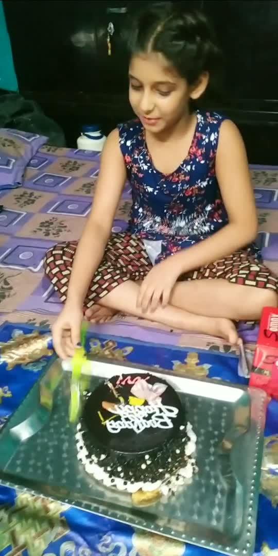 #hbddhanush #niecebirthday 🎂🎂