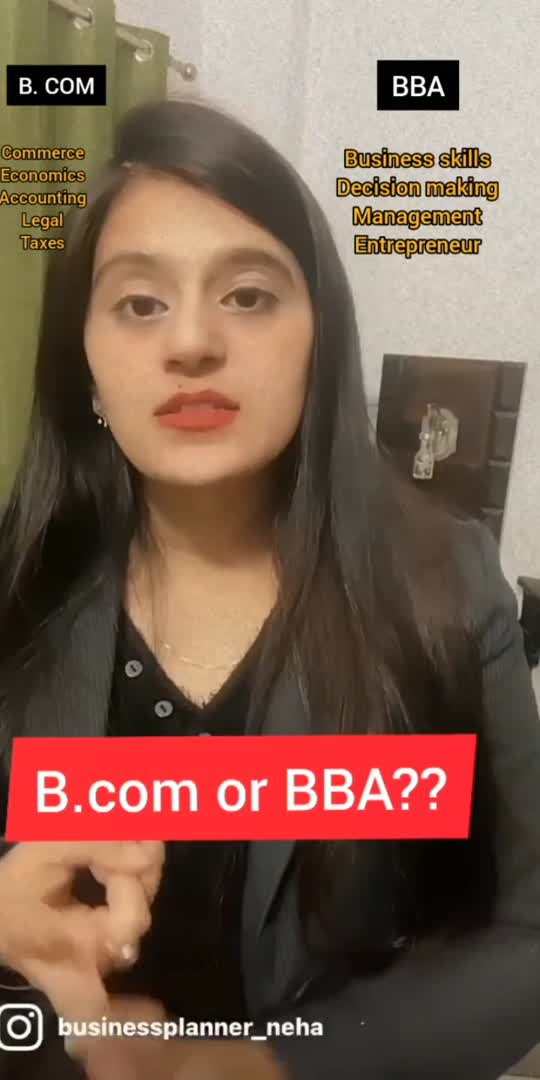 B. com or BBA?? How the world will be without internet? https://openinapp.co/youtube/ba977