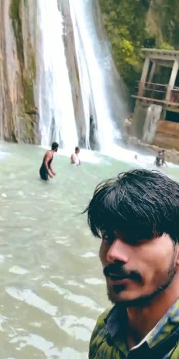 #mussoorie  waterfall