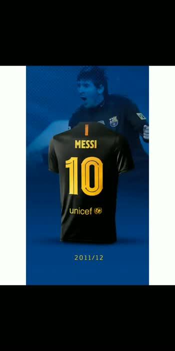 Messi on Barcelona