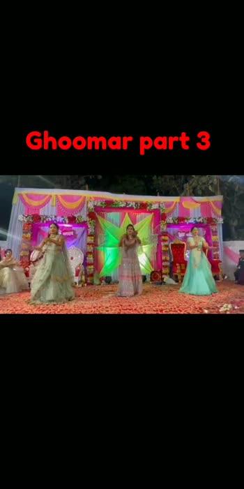 #ghoomar #weddingdance