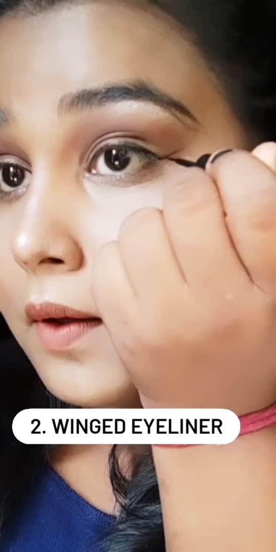 🖤 learn eyeliner #roposomakeup #roposostar