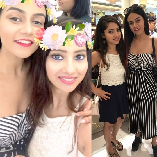 When i met the cool & quirky @thecollegecouture at the @pc_jeweller X @styledotme event 😀💗 If u hvnt seen her videos..ur missing out! They are hilarious 😅 Also for all the #beauty #fashion #lifestyle reviews join me on- www.lifestylewithpriya.com Insta/FB/Roposo/Styledotme- #lifestylewithpriya . #fashionbloggers #delhifashionblogger #indianfashionblogger #styledotme #delhifashion #summerstyle #summertrends #summerdress #croptopandskirt #maxidress #strippedmaxi #bloggerstyle #bloglife #bloggerdiaries #fashioninspo #fashionlook #bloggerselfie #fashionstatement #summerstyling #lookoftheday #roposogal #roposofashionblogger #roposoblogger #popxoblogger #popxoblognetwork #roposolove #roposolovers #soroposofashion #roposoblogging